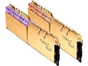 G.SKILL Trident Z Royal Series 64GB (2 x 32GB) 288-Pin DDR4 SDRAM DDR4 3600 (PC4 28800) Intel XMP 2.0 Desktop Memory Model F4-3600C16D-64GTRG