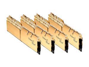 G.SKILL Trident Z Royal Series 128GB (4 x 32GB) 288-Pin DDR4 SDRAM DDR4 3600 (PC4 28800) Intel XMP 2.0 Desktop Memory Model F4-3600C16Q-128GTRG