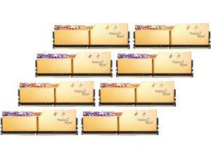 G.SKILL Trident Z Royal Series 256GB (8 x 32GB) 288-Pin DDR4 SDRAM DDR4 3200 (PC4 25600) Intel XMP 2.0 Desktop Memory Model F4-3200C14Q2-256GTRG