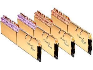G.SKILL Trident Z Royal Series 128GB (4 x 32GB) 288-Pin DDR4 SDRAM DDR4 3200 (PC4 25600) Intel XMP 2.0 Desktop Memory Model F4-3200C14Q-128GTRG