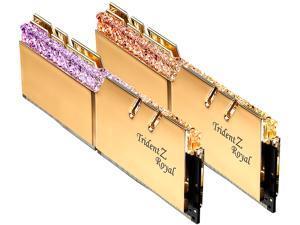 G.SKILL Trident Z Royal Series 32GB (2 x 16GB) 288-Pin DDR4 SDRAM DDR4 3600 (PC4 28800) Intel XMP 2.0 Desktop Memory Model F4-3600C14D-32GTRG