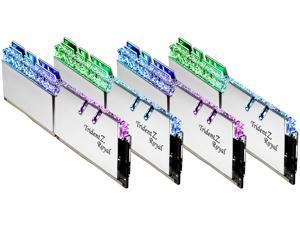 G.SKILL Trident Z Royal Series 64GB (4 x 16GB) 288-Pin DDR4 SDRAM DDR4 3600 (PC4 28800) Intel XMP 2.0 Desktop Memory Model F4-3600C14Q-64GTRS