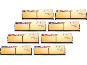 G.SKILL Trident Z Royal Series 256GB (8 x 32GB) 288-Pin DDR4 SDRAM DDR4 3600 (PC4 28800) Intel XMP 2.0 Desktop Memory Model F4-3600C16Q2-256GTRG