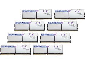 G.SKILL Trident Z Royal Series 256GB (8 x 32GB) 288-Pin DDR4 SDRAM DDR4 3600 (PC4 28800) Intel XMP 2.0 Desktop Memory Model F4-3600C16Q2-256GTRS