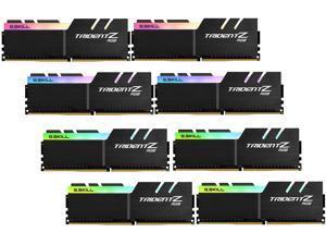 G.SKILL TridentZ RGB Series 256GB (8 x 32GB) 288-Pin DDR4 SDRAM DDR4 3200 (PC4 25600) Intel XMP 2.0 Desktop Memory Model F4-3200C14Q2-256GTZR