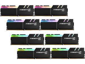 G.SKILL TridentZ RGB Series 256GB (8 x 32GB) 288-Pin DDR4 SDRAM DDR4 3600 (PC4 28800) Intel XMP 2.0 Desktop Memory Model F4-3600C16Q2-256GTZR