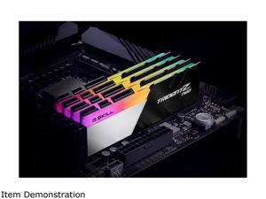 G.SKILL Trident Z Neo Series 64GB (2 x 32GB) 288-Pin DDR4 SDRAM DDR4 3800 (PC4 30400) Desktop Memory Model F4-3800C18D-64GTZN