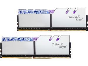 G.SKILL Trident Z Royal Series 32GB (2 x 16GB) 288-Pin DDR4 SDRAM DDR4 4000 (PC4 32000) Intel XMP 2.0 Desktop Memory Model F4-4000C18D-32GTRS
