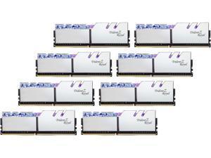 G.SKILL Trident Z Royal Series 256GB (8 x 32GB) 288-Pin DDR4 SDRAM DDR4 2666 (PC4 21300) Intel XMP 2.0 Desktop Memory Model F4-2666C19Q2-256GTRS