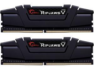 G.SKILL Ripjaws V Series 64GB (2 x 32GB) 288-Pin DDR4 SDRAM DDR4 2666 (PC4 21300) Desktop Memory Model F4-2666C19D-64GVK