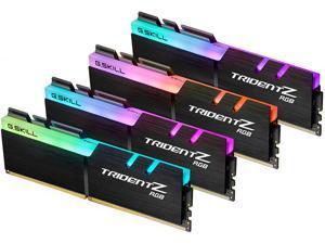 G.SKILL TridentZ RGB Series 32GB (4 x 8GB) 288-Pin DDR4 SDRAM DDR4 4000 (PC4 32000) Intel XMP 2.0 Desktop Memory Model F4-4000C18Q-32GTZRB