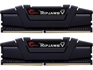 G.SKILL Ripjaws V Series 16GB (2 x 8GB) 288-Pin DDR4 SDRAM DDR4 4400 (PC4 35200) Intel XMP 2.0 Desktop Memory Model F4-4400C18D-16GVKC