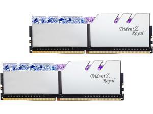 G.SKILL Trident Z Royal Series 32GB (2 x 16GB) 288-Pin DDR4 SDRAM DDR4 4000 (PC4 32000) Desktop Memory Model F4-4000C16D-32GTRSA