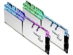 G.SKILL Trident Z Royal Series 16GB (2 x 8GB) 288-Pin DDR4 SDRAM DDR4 4800 (PC4-38400) Intel XMP 2.0 Desktop Memory Model F4-4800C19D-16GTRSC