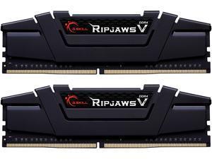 G.SKILL Ripjaws V Series 32GB (2 x 16GB) 288-Pin DDR4 SDRAM DDR4 4266 (PC4 34100) Intel XMP 2.0 Desktop Memory Model F4-4266C19D-32GVK