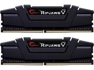 G.SKILL Ripjaws V Series 64GB (2 x 32GB) 288-Pin DDR4 SDRAM DDR4 4400 (PC4 35200) Intel XMP 2.0 Desktop Memory Model F4-4400C19D-64GVK