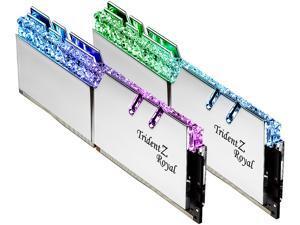 G.SKILL Trident Z Royal Series 32GB (2 x 16GB) 288-Pin DDR4 SDRAM DDR4 4000 (PC4 32000) Intel XMP 2.0 Desktop Memory Model F4-4000C14D-32GTRS