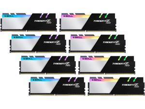G.SKILL Trident Z Neo Series 128GB (8 x 16GB) 288-Pin DDR4 SDRAM DDR4 3600 (PC4 28800) Intel XMP 2.0 Desktop Memory Model F4-3600C14Q2-128GTZNA