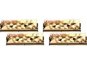 G.SKILL Trident Z Royal Elite Series 32GB (4 x 8GB) 288-Pin DDR4 SDRAM DDR4 3600 (PC4 28800) Desktop Memory Model F4-3600C14Q-32GTEGA