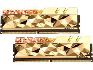 G.SKILL Trident Z Royal Elite Series 16GB (2 x 8GB) 288-Pin DDR4 SDRAM DDR4 4800 Intel XMP 2.0 Desktop Memory Model F4-4800C19D-16GTEGC