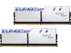 G.SKILL Trident Z Royal Series 32GB (2 x 16GB) 288-Pin DDR4 SDRAM DDR4 4600 (PC4 36800) Intel XMP 2.0 Desktop Memory Model F4-4600C20D-32GTRS
