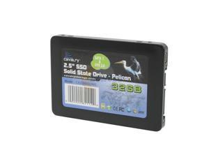 "Cavalry Pelican 2.5"" 32GB USB 2.0 & SATAII MLC Internal / External Solid State Drive (SSD) CASD00032MIS"