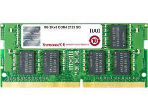 Transcend 8GB 260-Pin DDR4 SO-DIMM DDR4 2133 (PC4 17000) Laptop Memory Model TS1GSH64V1H
