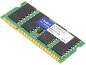 AddOn - Memory Upgrades 2GB 200-Pin DDR2 SO-DIMM DDR2 667 (PC2 5200) Unbuffered Dual Rank Memory Model M25664F50-AA