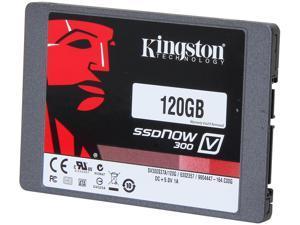 "Kingston SSDNow V300 Series 2.5"" 120GB SATA III Internal Solid State Drive (SSD) SV300S37A/120G"