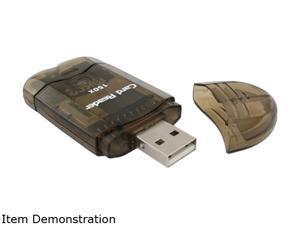 INSTEN 1042787 USB 2.0 SDHC / SD / MMC Memory Card Reader
