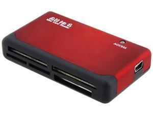 INSTEN 1042799 26-in-1 USB 2.0 Memory Card Reader