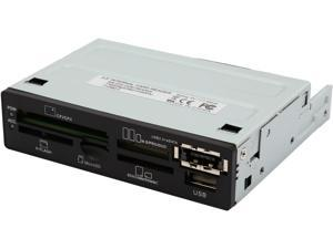 """Nippon Labs USB 2.0 Internal Memory Card Reader 3.5"""" All In One  ICR-BB"""
