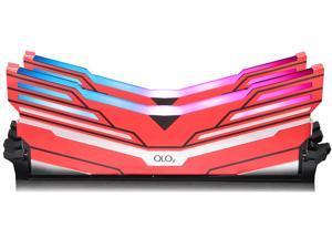 OLOy WarHawk RGB 16GB (2 x 8GB) 288-Pin DDR4 SDRAM DDR4 3000 (PC4 24000) Desktop Memory Model MD4U083016BCDA
