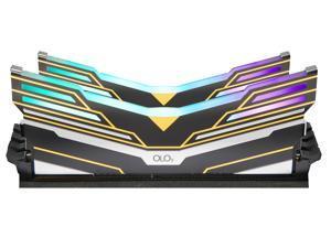 OLOy WarHawk RGB 32GB (2 x 16GB) 288-Pin DDR4 SDRAM DDR4 3000 (PC4 24000) Desktop Memory Model MD4U163016BEDA