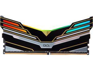 OLOy WarHawk RGB 16GB 288-Pin DDR4 SDRAM DDR4 3000 (PC4 24000) Desktop Memory Model MD4U163016BESA