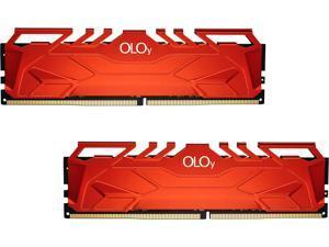 OLOy 16GB (2 x 8GB) 288-Pin DDR4 SDRAM DDR4 2666 (PC4 21300) Desktop Memory Model MD4U082616BHDA