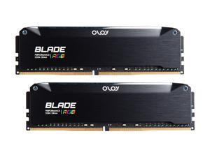 OLOy Blade RGB 16GB (2 x 8GB) 288-Pin DDR4 SDRAM DDR4 3200 (PC4 25600) Desktop Memory Model ND4U0832162BRKDE
