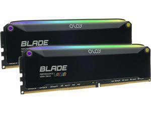 OLOy Blade RGB 32GB (2 x 16GB) 288-Pin DDR4 SDRAM DDR4 4000 (PC4 32000) Desktop Memory Model ND4U1640180BRPDE
