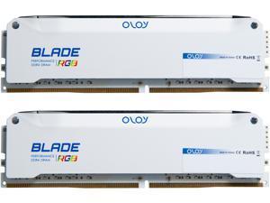 OLOy Blade RGB 16GB (2 x 8GB) 288-Pin DDR4 SDRAM DDR4 3200 (PC4 25600) Desktop Memory Model ND4U0832162BRWDE