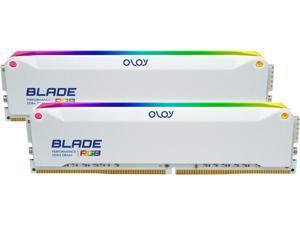 OLOy Blade RGB 32GB (2 x 16GB) 288-Pin DDR4 SDRAM DDR4 3200 (PC4 25600) Desktop Memory Model ND4U1632162BRWDE