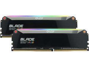 OLOy Blade RGB 32GB (2 x 16GB) 288-Pin DDR4 SDRAM DDR4 3200 (PC4 25600) Desktop Memory Model ND4U1632162BRPDE