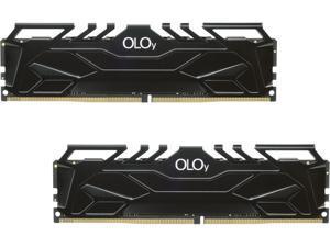 OLOy 16GB (2 x 8GB) 288-Pin DDR4 SDRAM DDR4 2400 (PC4 19200) Desktop Memory Model ND4U0824170BHKDA
