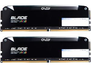 OLOy Blade RGB 32GB (2 x 16GB) 288-Pin DDR4 SDRAM DDR4 4600 (PC4 36800) Desktop Memory Model ND4U1646192BRPDE