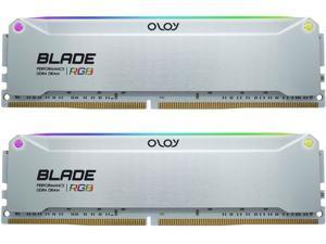 OLOy Blade RGB 32GB (2 x 16GB) 288-Pin DDR4 SDRAM DDR4 4000 (PC4 32000) Desktop Memory Model ND4U1640150BRADE