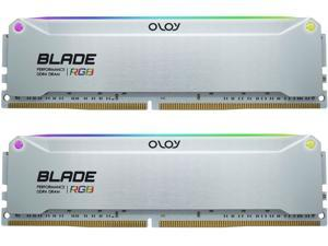 OLOy Blade RGB 16GB (2 x 8GB) 288-Pin DDR4 SDRAM DDR4 4000 (PC4 32000) Desktop Memory Model ND4U0840160BRADE