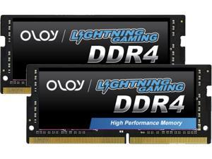 OLOy 32GB (2 x 16GB) 260-Pin DDR4 SO-DIMM DDR4 3200 (PC4 25600) Laptop Memory Model ND4S1632220BZ0DH