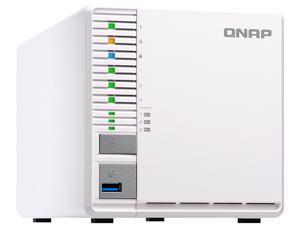 QNAP TS-832X-2G-US High-Performance 8-Bay 64-bit NAS Built-in 2 x 10 GbE  (SFP+) Network, Hardware Encryption, Quad Core 1 7 GHz, 2GB RAM, 2 x 1 GbE  -