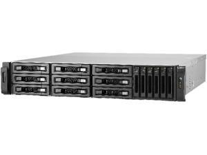 "QNAP 15-bay 10GbE NAS and iSCS/I IP-SAN (3.5"" x 9, 2.5"" x 6). 2U, SAS 12G, SAS / SATA 6G, 4 x 1GbE, Build in 2 x 10GbE (SFP+), 40GbE-ready, Redundant PSU"