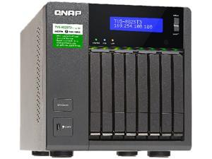 QNAP TVS-882ST3-i7-8G-US Diskless System 8-bay 2.5-inch Thunderbolt 3 NAS with 10 GbE connectivity