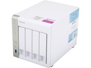 QNAP 4-Bay TS-431P2-1G-US Personal Cloud NAS with DLNA, ARM Cortex A15 1.7GHz Quad Core, 1GB RAM